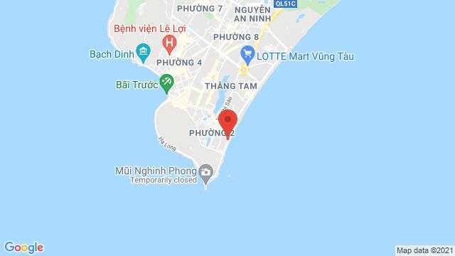 Map of the area around Premier Pearl Hotel