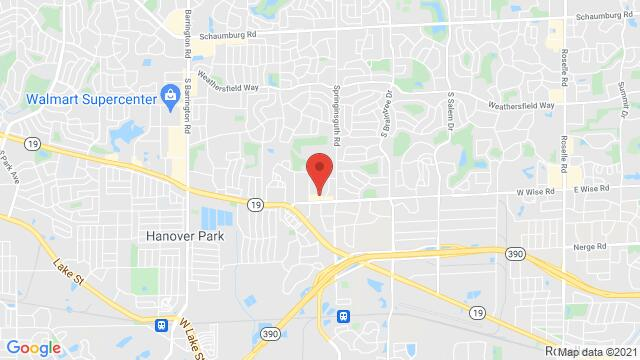 Map of the area around 1712 W Wise Road Schaumburg IL United States