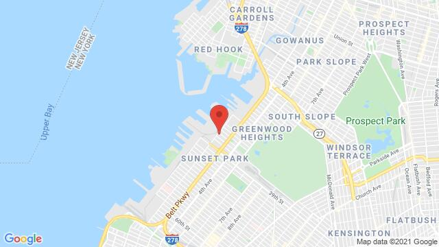 Map of the area around 34 35th Street New York NY United States