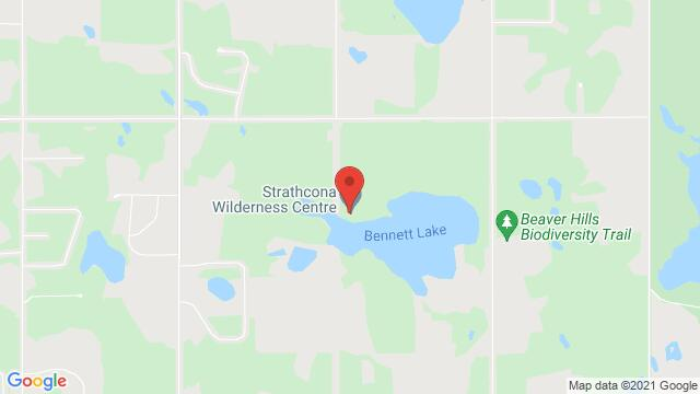 Map of the area around Strathcona Wilderness Centre 52535 Range Rd 212, Ardrossan, AB T8G 2E9, Canada