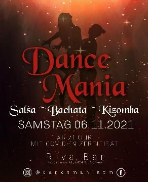 Poster for Dance Mania at Riva Bar - SaBaKi on Saturday, November  6 by Dance Mania_Seli