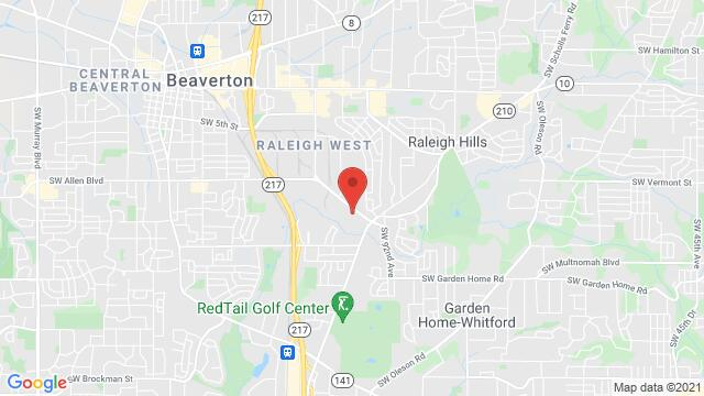 Map of the area around 6540 SW Fallbrook Pl Beaverton OR United States